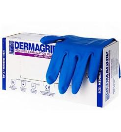 Перчатки медицинские смотровые (диагностические) латексные нестерильные неопудренные,DERMAGRIP HIGH RISK