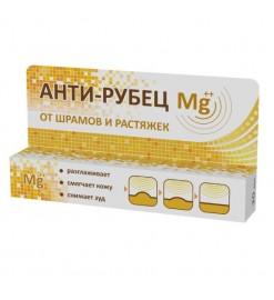 Гель АНТИ-РУБЕЦ Mg++ средство от шрамов и растяжек, Экобиз