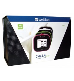 Акционный набор Глюкометр Wellion Calla Light + тест-полоски №50 +ланцеты №50,Австрия