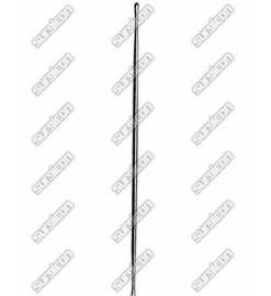 """Зонд хирургический пуговчатый двухсторонний,15.5 cм/(4-1/2)"""",D 2мм, J-23-022, Surgicon"""