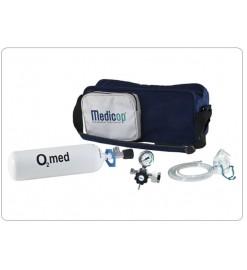 OXYMED, пересувний апарат для кисневої терапії з наплічною сумкою