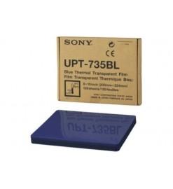 Термопленка, прозрачная, синяя UPT-735BL, ОНИКО